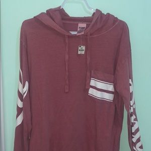 Pink by Victoria secret oversized long sleeve